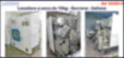 lavadora a seco 10kg Sovrana italiana para lavanderia domestica