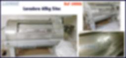 Lavadora horizontal usada 60kg Sitec para lavanderia industrial