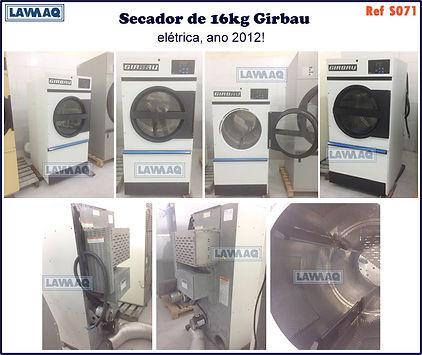 ref S071 secador 16kg eletrico Girbau.jp