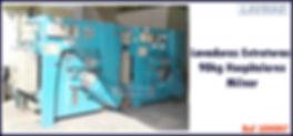 Lavadora extratora hospitalar 90kg Milnor para lavanderia industrial
