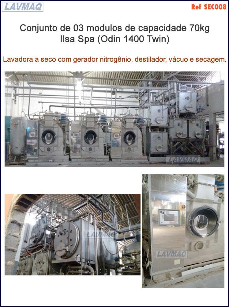 ref SECO008 lavadora 70kg a seco