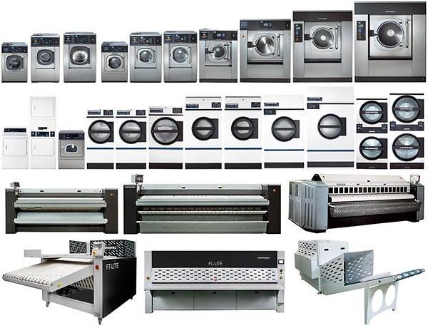 Toda a linha de equipamentos Girbau