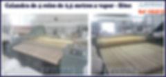Calandra usada 4 rolos a vapor Sitec - LAVMAQ para lavanderia industrial