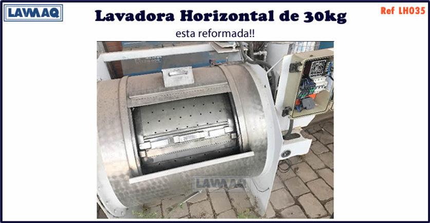 ref LH035 lavadora horizontal 30kg