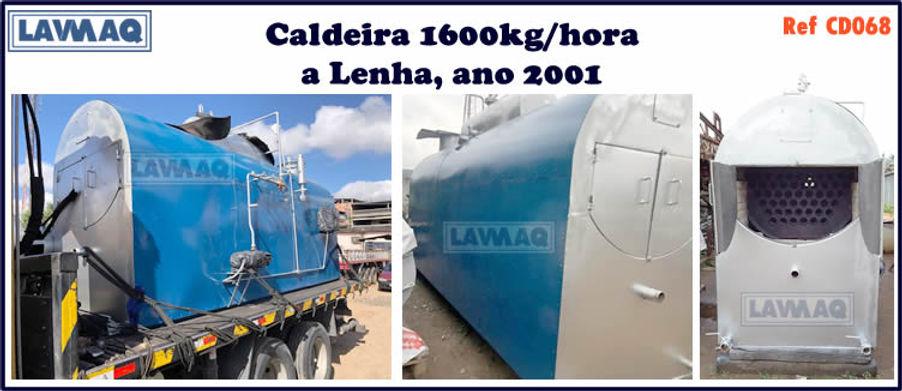 ref CD068 Caldeira de 1600 kg h ano 2001