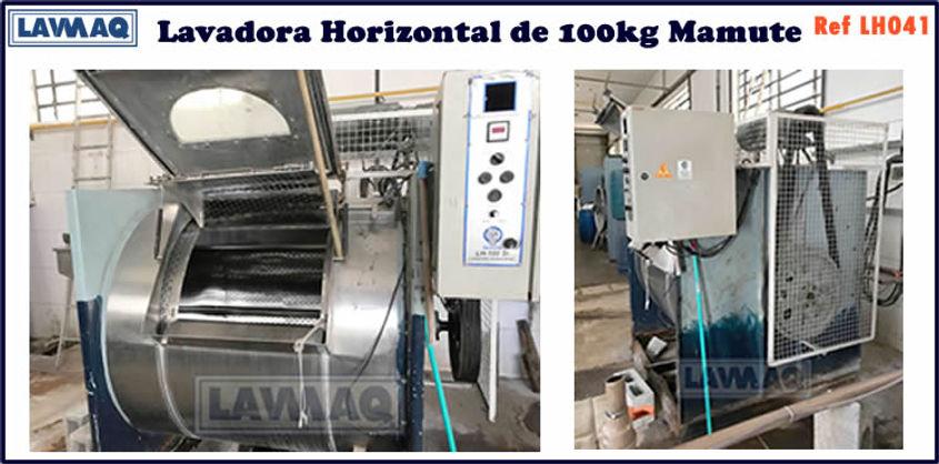 ref LH041 lavadora horizontal 100kg Mamu