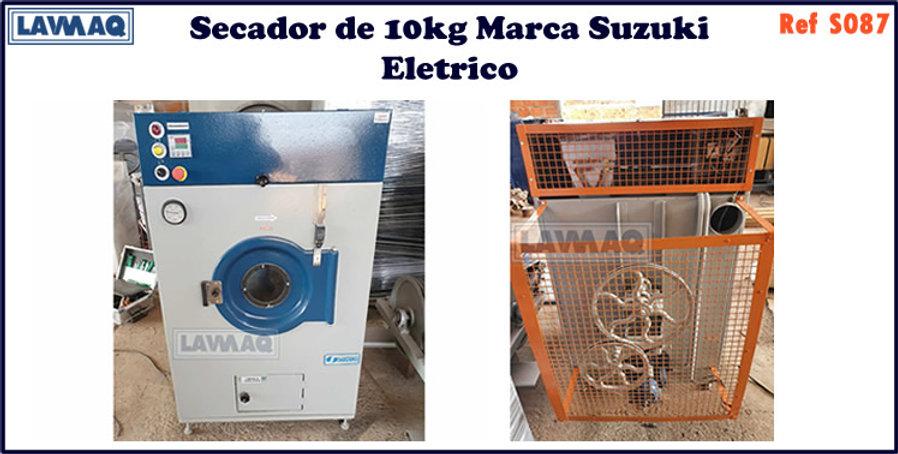 ref S087 secador 10kg  marca Suzuki eletrica