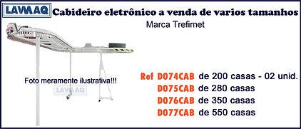 ref D074 75 76 e 77CAB Cabideiro eletron