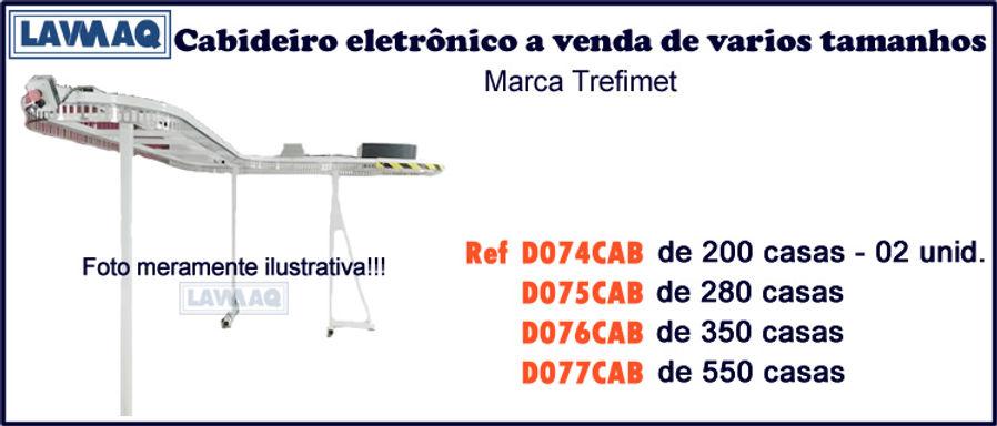 ref D074 75 76 e 77CAB Cabideiro eletronico