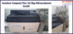 Lavadora compacta plus 10kg de lavagem e 05kg de centrifugagem hidrocarboneto Suzuki para lavanderia industrial