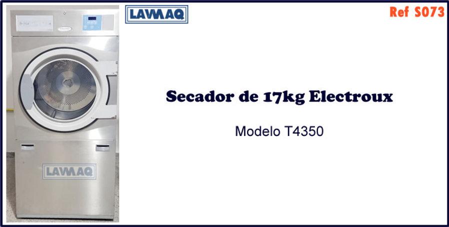 ref S073 secador 17kg eletrico Electrolux
