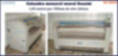 calandra monorol usada mural 1,60 metros suzuki para lavanderia industrial domestica