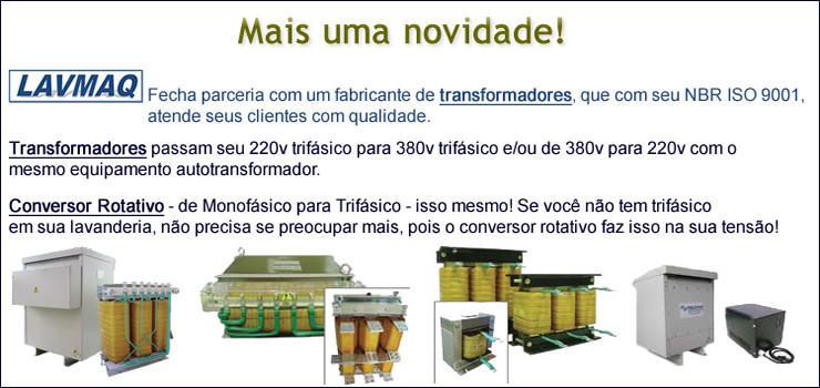 Autotransformadores 220/380 ou 380/220 Trifásico