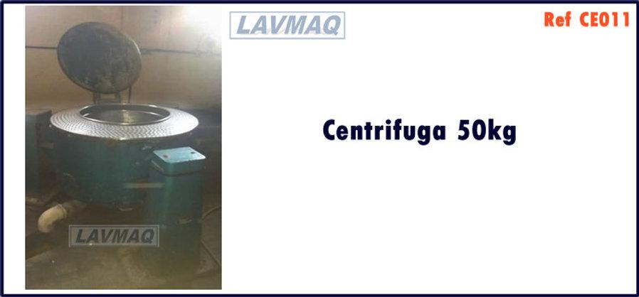 Centrifuga extratora 50kg para lavanderia industrial LAVMAQ