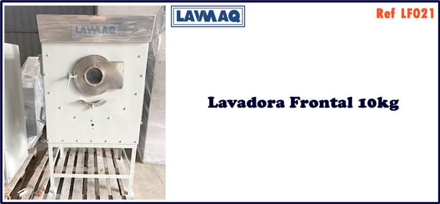 ref LF021 lavadora frontal 10kg