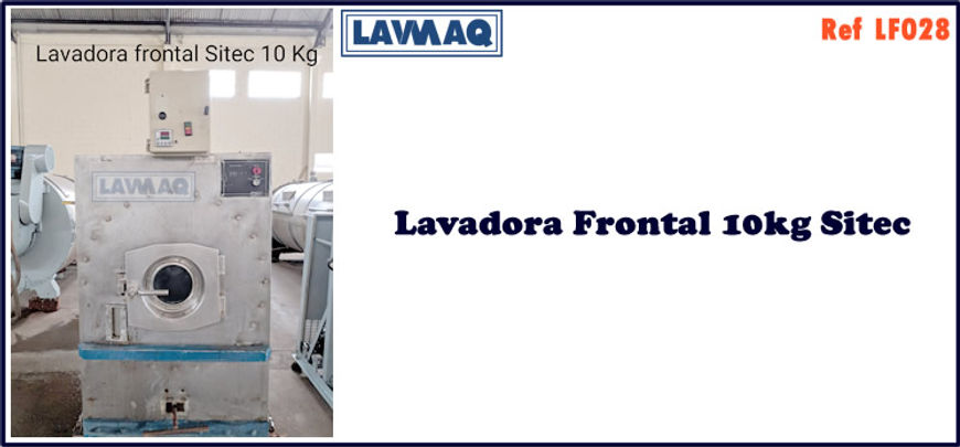 ref LF028 lavadora frontal 10kg sitec