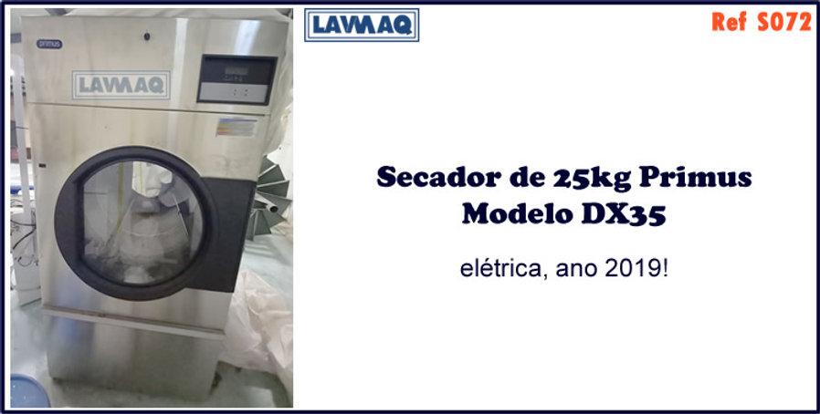 ref S072 secador 25kg eletrico Primus