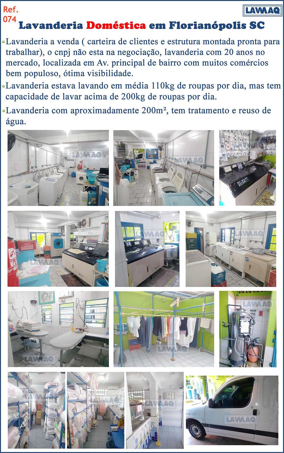 ref 074 lavanderia domestica em Floriano