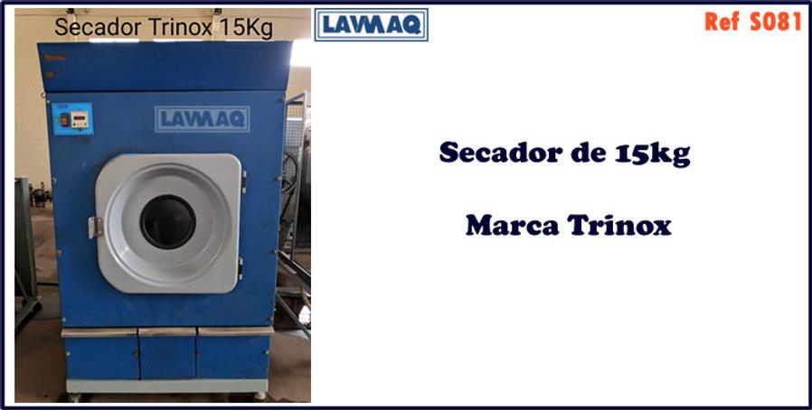 ref S081 secador 15kg  marca trinox