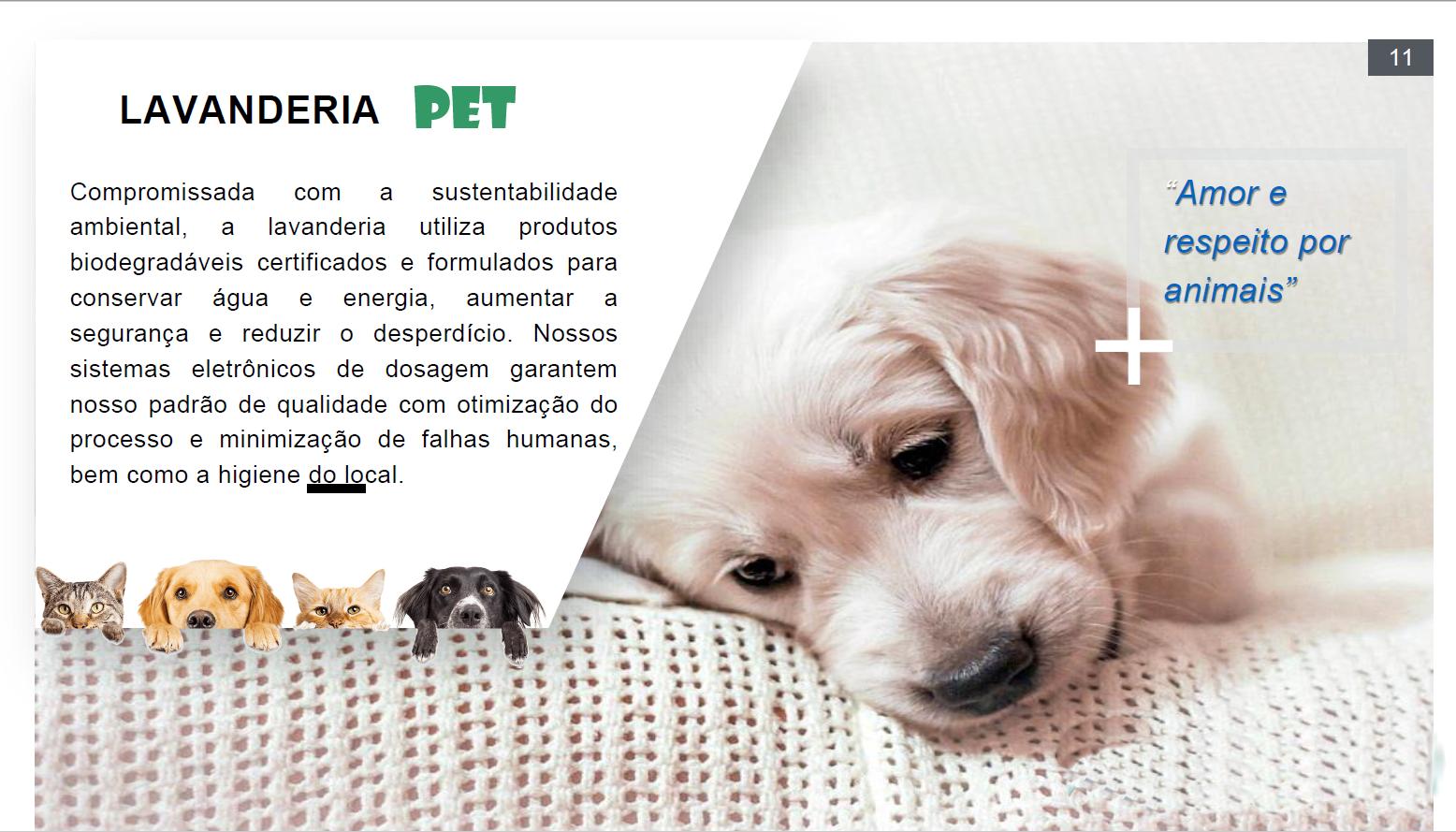Apresentação Lavanderia Pet e toalheiro pag010