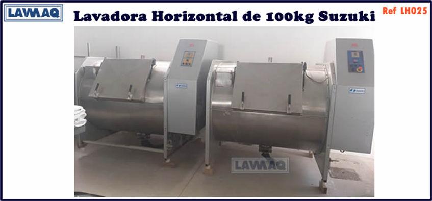 ref LH025 lavadora horizontal 100kg Suzuki
