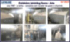 ref CD059 Caldeira usada de 3000kg h a lenha