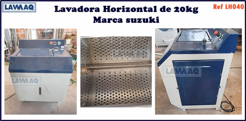 ref LH040 lavadora horizontal 10kg