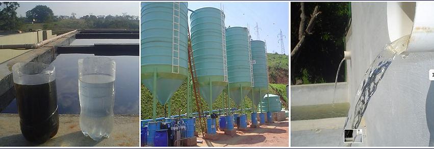 Vejam como a água pode ser tratada e reutizada.