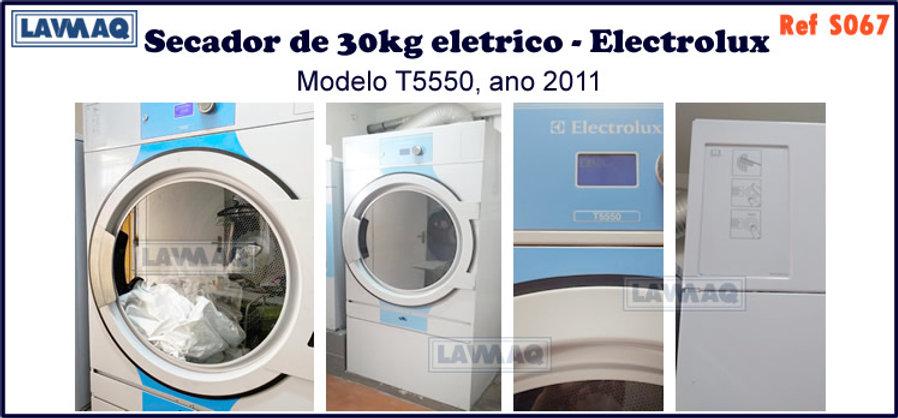 ref S067 secador 30kg eletrico Electrolux