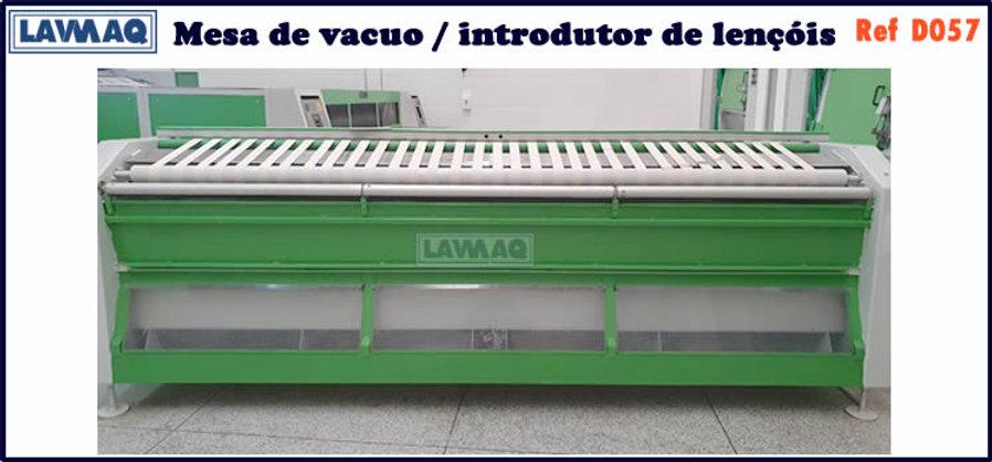 ref D057 mesa de vacuo introdutor de lencois