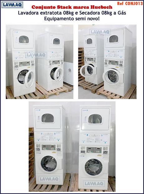 ref CONJ013 conjunto de lavadora e secadora