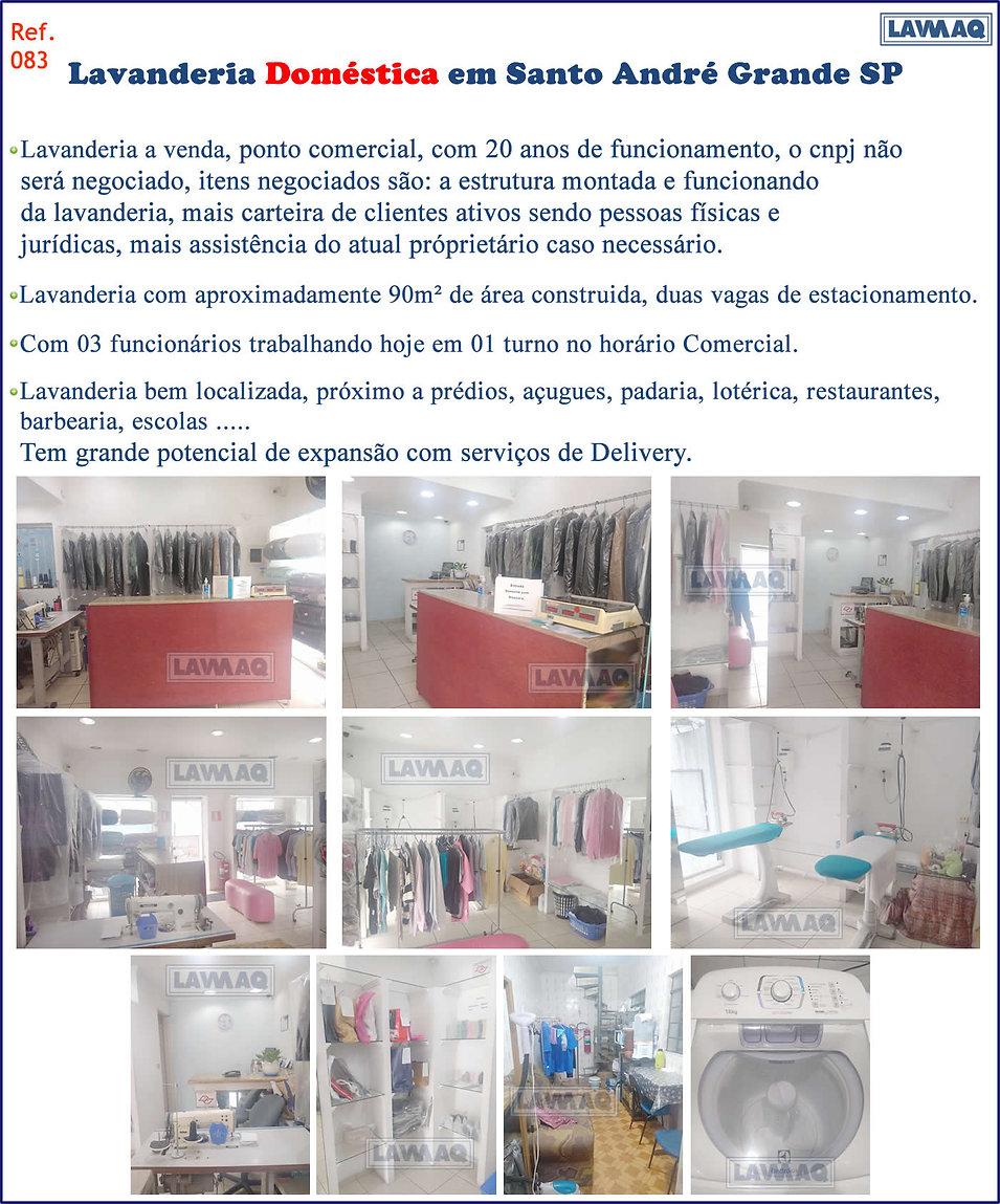 ref 083 Lavanderia domestica Santo Andre