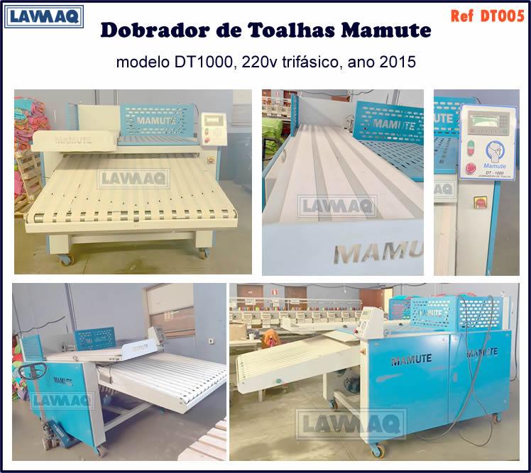 ref DT005 dobrador de toalhas Mamute