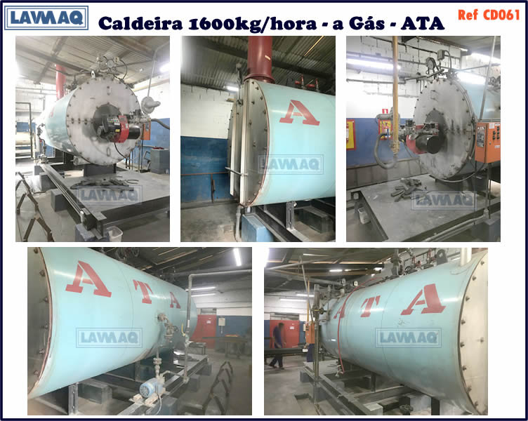 ref CD061 Caldeira de 1600kg h a gas ATA