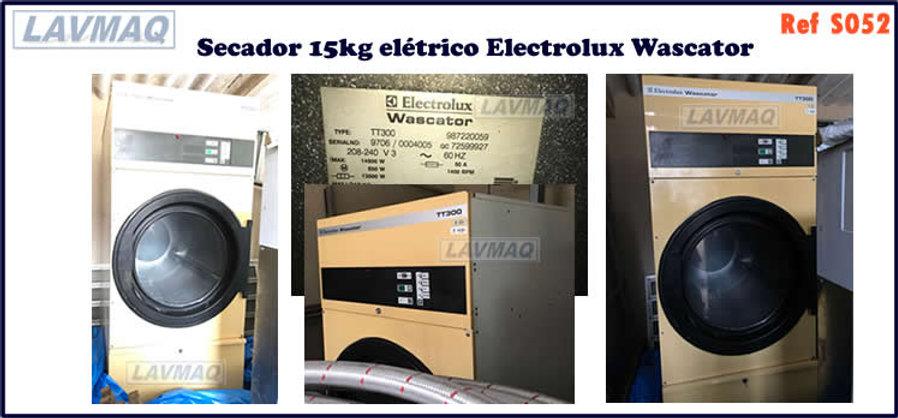 secador15kg eletrico electrolux