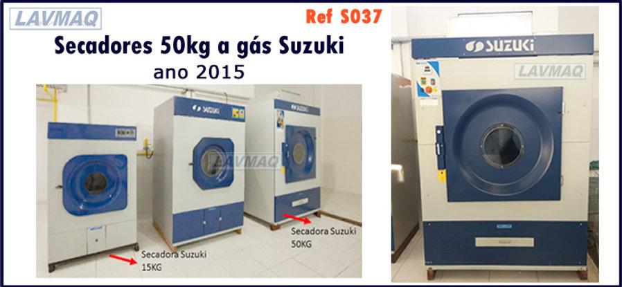 secadores 50kg a gas suzuki