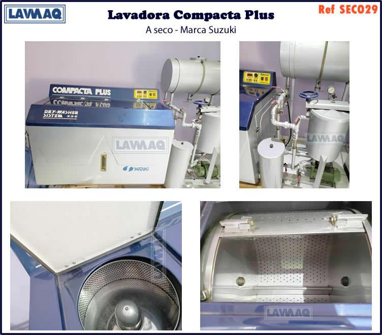 ref SECO029 lavadora a seco 10 x 10 compacta plus