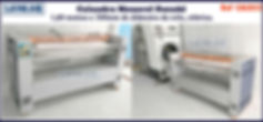 ref CAL053 calandra monorol usada com 1 60 m para lavanderia domestica