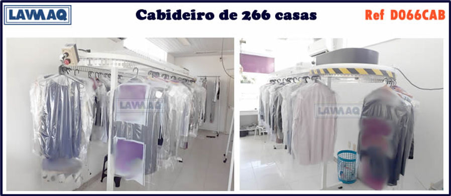 ref D066CAB cabideiro 266 casas