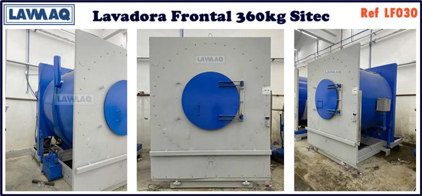 ref LF030 lavadora frontal 360kg Sitec