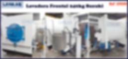ref LF020 lavadora frontal 240kg Suzuki.