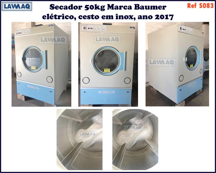 ref S083 secador 50kg  marca Baumer eletrica