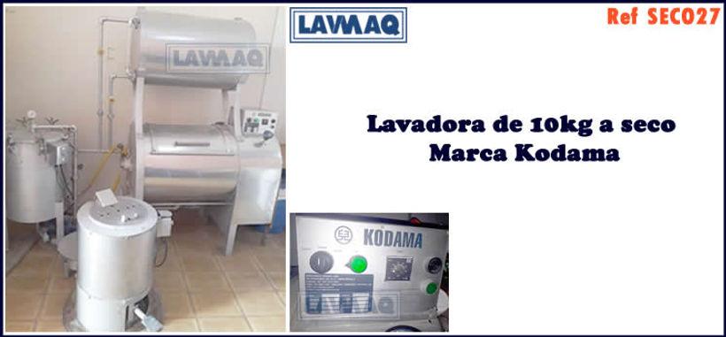 ref SECO027 lavadora a seco 10kg kodama