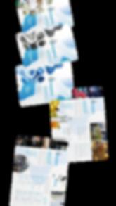 folders Kalykim produtos químicos para lavanderias