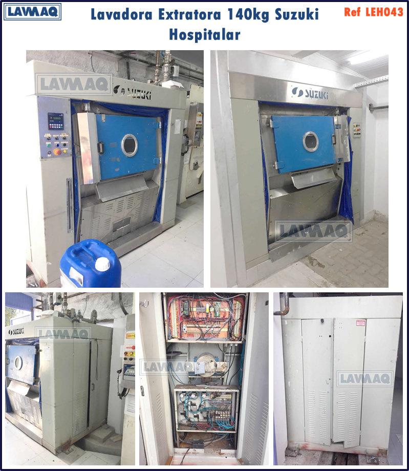 ref LEH043 lavadora extratora140kg Suzuk