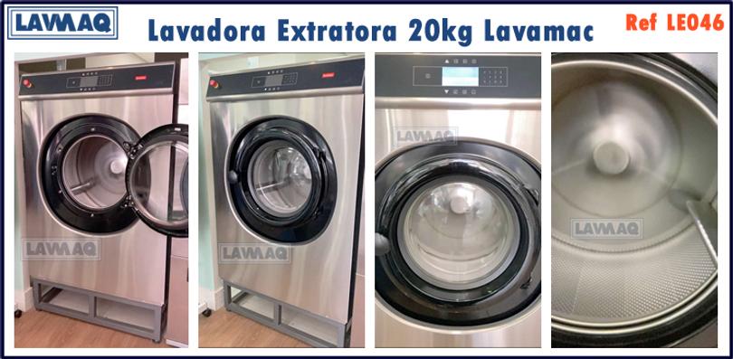 ref LE046 lavadora extratora 20kg Lavama