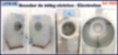 ref S062 secador usado 20kg eletrico Electrolux