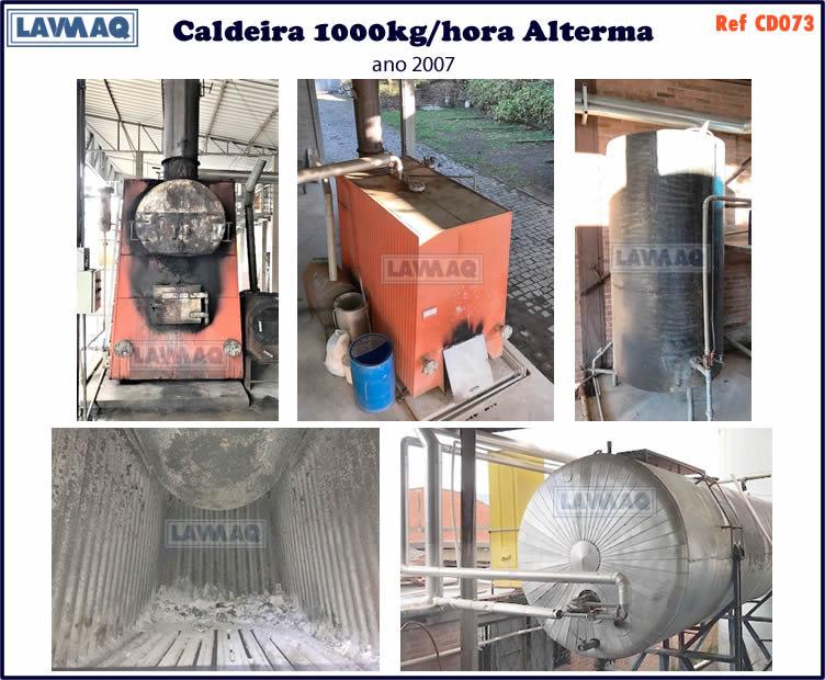 ref CD073 Caldeira de 1000 kg h marca Alterma