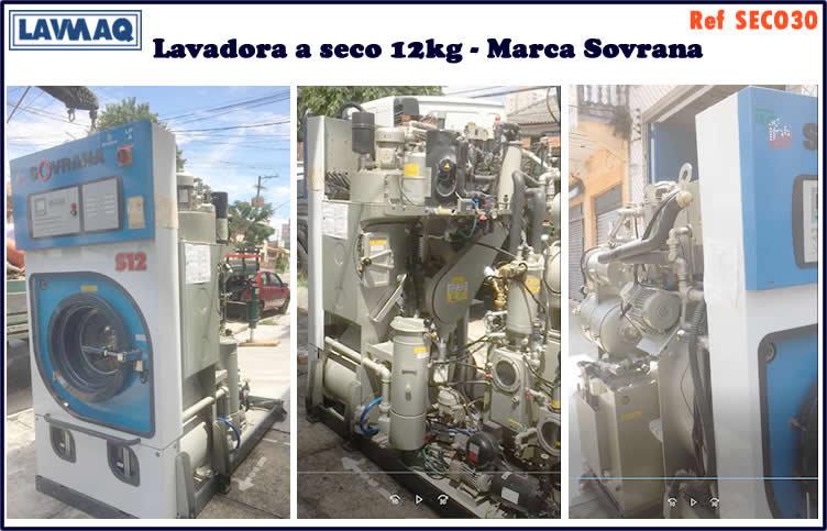ref SECO030 lavadora a seco Sovrana italiana
