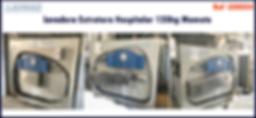 ref LEH024 lavadora extratora usada hospitalar para lavanderia industrial